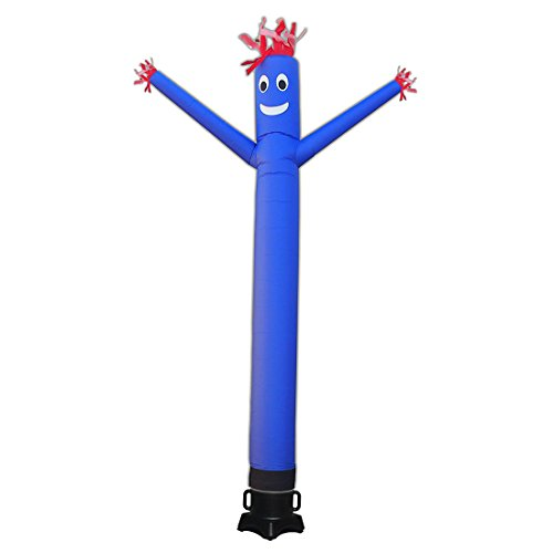 20ft Advertising Inflatable Tube Man Blow Up Giant Waving Arm Fly Puppet Christmas Halloween Decorative Signs for Business Store Party Club-Designed for 18' Blower(Not Include)