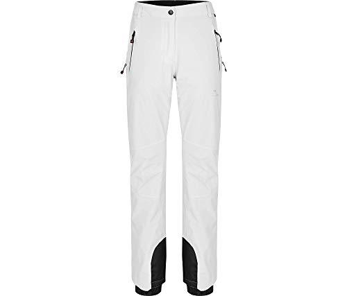 Bergson Damen Skihose Ice Light (Slim fit), White [600], 34 - Damen