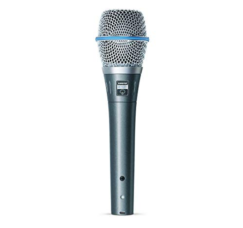 Shure BETA 87A Supercardioid Condenser Microphone for Handheld Vocal Applications