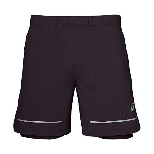 ASICS Lite Show 7 Inch Running Shorts Small Grey