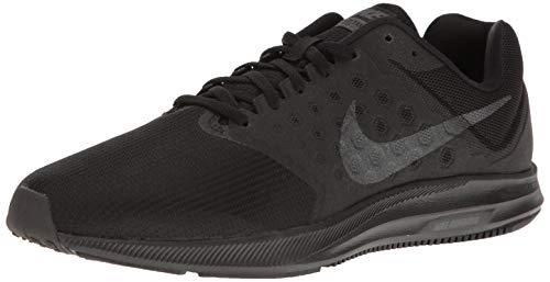 Nike Men's Downshifter 7 Running Shoe, Black/Metallic Hematite/Anthracite, 13 Regular US