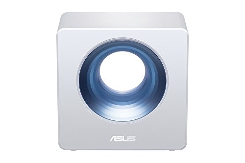 Asus Blue Cave AC2600 Dual-Band Wireless Router for Smart Homes, Featuring Intel Wifi Technology and Aiprotection Network Security Powered by Trend Micro,White