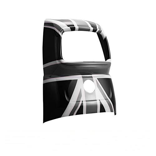 Embellecedor de la Cubierta del Coche Accesorios De Coche Cubierta De Ventilación Trasera Pegatina Decoración para MI-NI Cooper F60 Countryman Interior (Color : D)