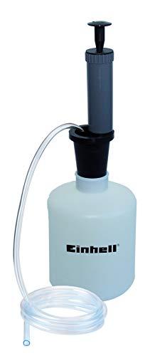 Original Einhell Benzin- und Ölabsaugpumpe (1,6 l Behälter, 1,3 m Absaugschlauch, Unterdruckpumpe)