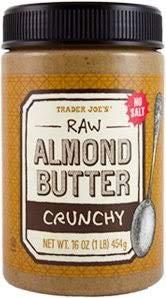 Phoenix free Mall Trader Joe's Raw Crunchy Unsalted Butter oz 16 Almond