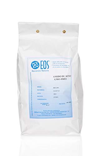 Amido di Riso Cannoli - Eos Natura Puro 100% ideale per bagnetto (1000 gr)