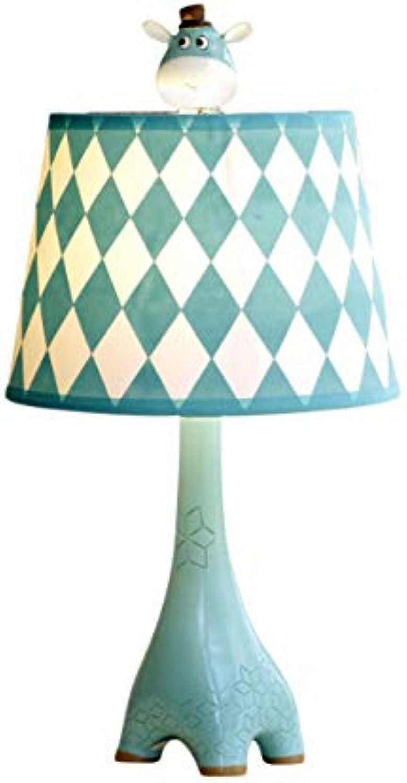 Lámpara de mesa decoración jirafa linda sala de estar infantil lámpara de cama lámpara de noche dormitorio