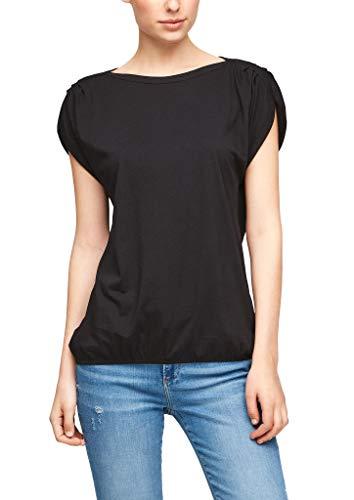 s.Oliver Damen Jerseyshirt in O-Shape Black 32