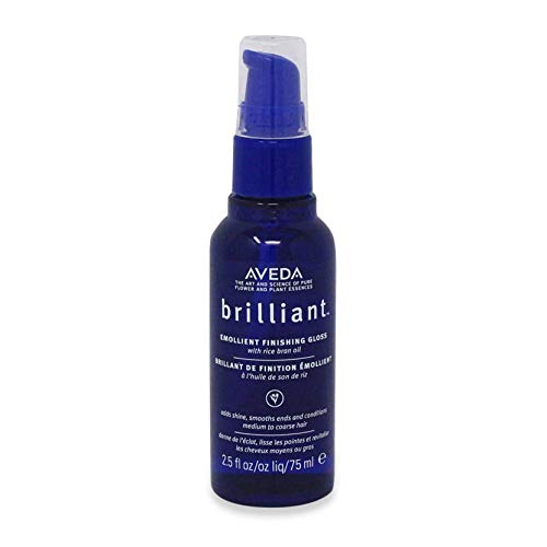 Aveda Brilliant Emollient Finishing Gloss With Rice Bran Oil 2.5 Oz by AVEDA