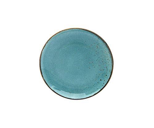 Creatable 22042 Water - Juego de 6 platos de postre (21 cm), diseño de gres