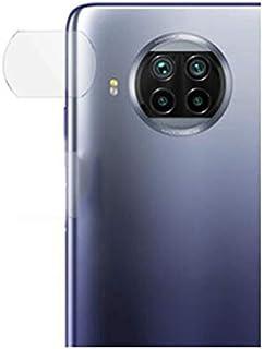 لهاتف شاومي مي 10 تي لايت لاصقة حمايه لعدسة الكاميرمن الزجاج المرن بتكنولوجيا نانو عاليه النقاء ضد الكسر بسمك 0.42 ملي