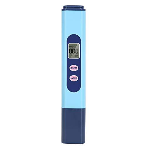 Cikonielf Wasserqualität Tester TDS Messgerät TDS Meter Tester Digital TDS Messgerät für Haushalt Trinkwasser Schwimmbäder Aquarien
