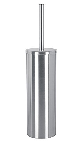 Kleine Wolke 5073117856 Brosse WC Crono en Chrome Acier Inoxydable, Argent, 20x20x5 cm