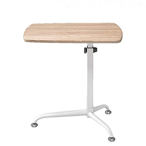YaGFeng Lectern Removable Podium Table Speaking Desk Standing Lifting Computer Desk For Meeting Training Podiums (Color : Light oak, Size : One size)