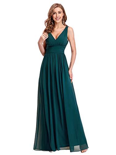 Lista de los 10 más vendidos para vestidos verdes largos de noche