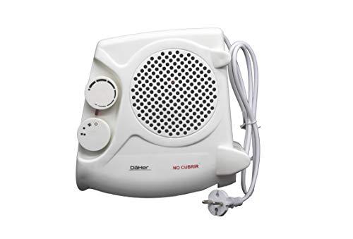 PRENDELUZ Calefactor de Aire Vertical/Horizontal. Termostato Ajustable.