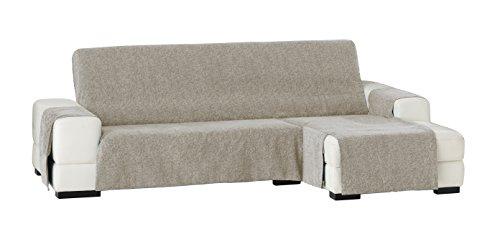 Eysa Dream - Funda de sofá para chaise longue, 290 cm, color visón