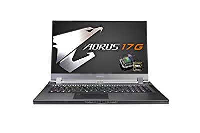 [2020] AORUS 17G (XB) Performance Gaming Laptop, 17.3-inch 144Hz IPS, GeForce RTX 2070 Super Max-Q, 10th Gen Intel i7-10750H, 16GB DDR4, 512GB NVMe SSD