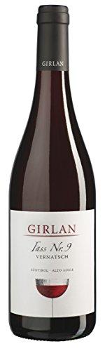 Girlan Vernatsch Fass Nr. 9 2019 trocken (0,75 L Flaschen)