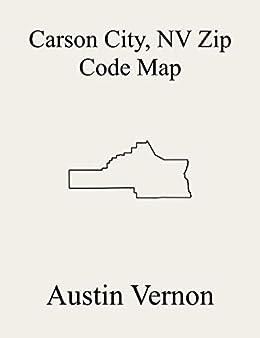 Amazon Com Carson City County Nevada Zip Code Map Includes