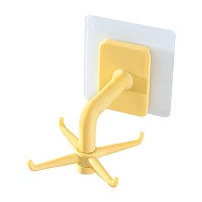 Amazon - Save 80%: 360° Rotating Folding Hook,Self-Adhesive 180°Vertical Flip Waterpr…