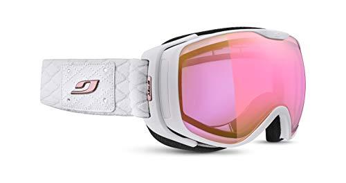 Julbo Luna Skibrille mit Visier, Photochrom, für Damen, Weiß, Einheitsgröße