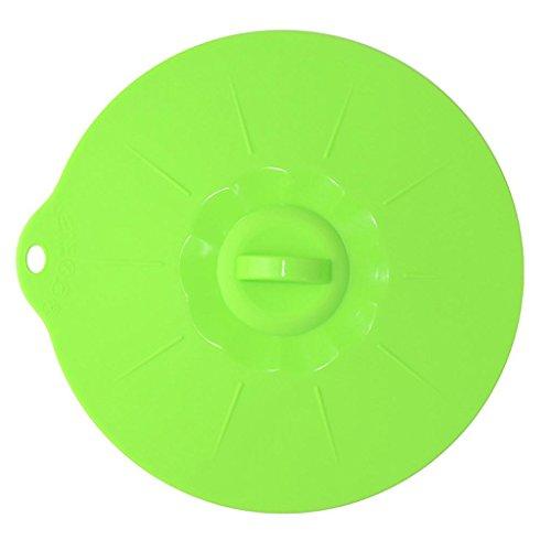 LDLCNCY Tapa de la Tapa de la Succión de Silicona Cacerola de Cocción Tapa de La Estirada Tapas de Silicona Cubierta de Tapón de Derrame Gadgets de Cocina Circular 3 unids/Set, 001