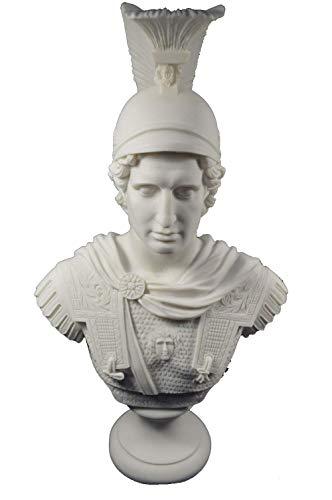 Estia Creations Alexander Scultura The Great Macedonian King Great Grande Busto
