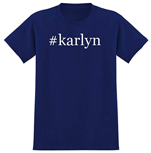 #karlyn - Hashtag Men's Graphic T-Shirt, Blue, XXX-Large
