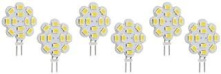 LED Value 6 Bulbs G4 2 Pin Halogen Lamp Replacements Under Cabinet Spot Light 10V-30V 12 Volt 24 Volt Long Lifetime Motor ...
