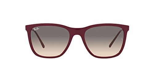 Ray-Ban 0RB4344 Gafas, RED CHERRY, 56 Unisex Adulto