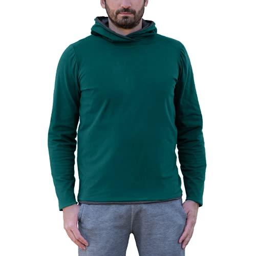 BlockWave EMF - Sudadera con capucha para hombre con protección de RF