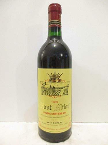 lussac saint-émilion haut milon rouge 1989 - bordeaux