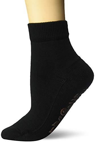 FALKE Damen Socken Light Cuddie Pads - 87% Baumwolle, 1 Paar, Schwarz (Black 3000), Größe: 39-42