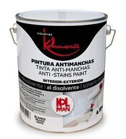 Kolman antimanchas blanco. Pintura antimanchas antihumo (15 litros)