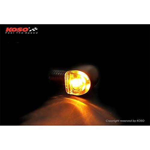 10007097 KOSO LED Blinker NANO, schwarz matt Paar