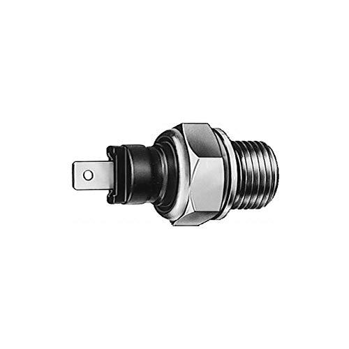 HELLA 6ZF 007 393-001 Öldruckschalter - 12V - Anschlussanzahl: 1 - geschraubt - Gewindemaß: M16x1,5 - Öffner - schwarz