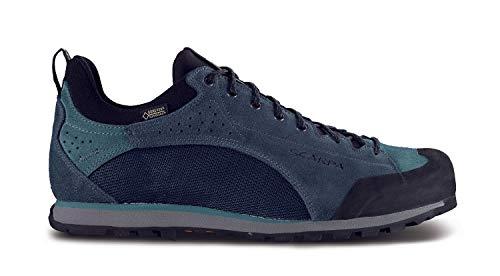 Scarpa Oxygen GTX Blau, Herren Gore-Tex Freizeitschuh, Größe EU 46 - Farbe Ottanio - Nile Blue