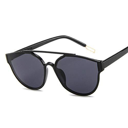 Sonnenbrille Herren Double Beam Sonnenbrille Damen/Herren Classic Brille Small Fac Femle Travel Black
