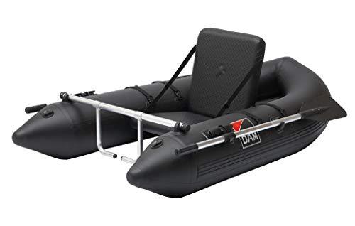 Dam Belly Boat, mit Rudern und einzigartigen Fußstützen 180cm, aus 0,70mm dicken PVC, aufblasbarer Sitz, Länge 180cm, inkl. Pumpe