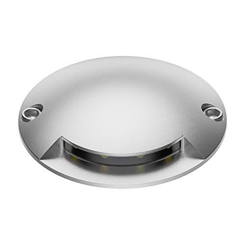 ledscom.de LED Lampada a Pavimento Bunda 1-Beam da Esterno, carrabile, Bianca Calda