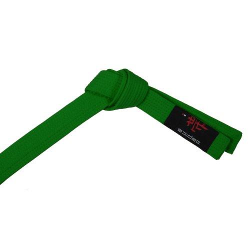 DEPICE Gürtel Karategürtel Judogürtel - Expositor de Cinturones de Artes Marciales, Color Verde, Talla 240 cm