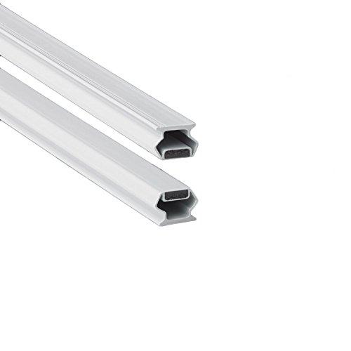 200cm EC-MAG-13 Guarnizione Magnetica Box Doccia in gomma (Bianco)