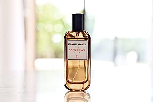 Perfume para interior y ambiente, aroma para el hogar, madera de sándalo, café, especias, 11-The coffee shop of JP/50 ml, marca Lola James Harper