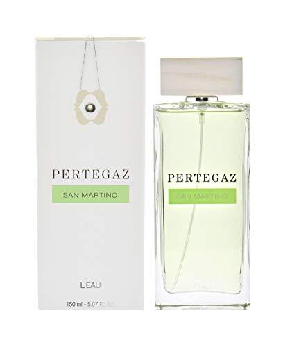 Pertegaz San Martino - Acqua di profumo unisex agli agrumi con vaporizzatore - 150ml.