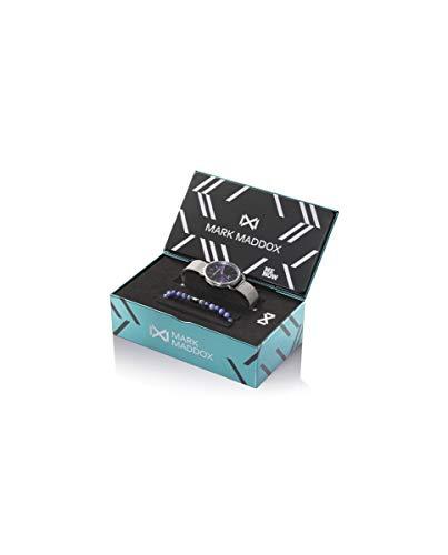 MARK MADDOX - Pack Reloj Acero Brazalete + Pulsera Sr Mm - HM7124-37