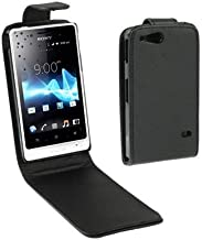 HHM Vertical Flip Holster for Sony Xperia Go / ST27i