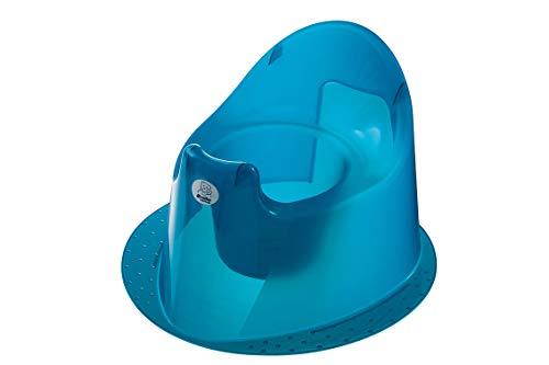 Rotho Babydesign TOP Petit Pot à Base Stable, À partir de 18 mois, TOP, Bleu Translucide, 200030209