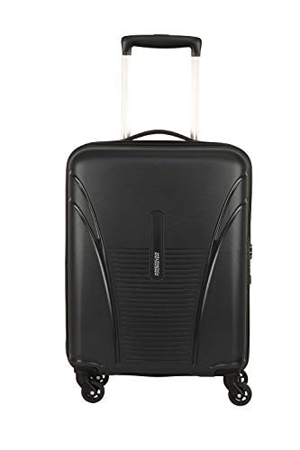 American Tourister Ivy Polypropylene 55 cms Black Hardsided Cabin Luggage (FO1 (0) 09 001)
