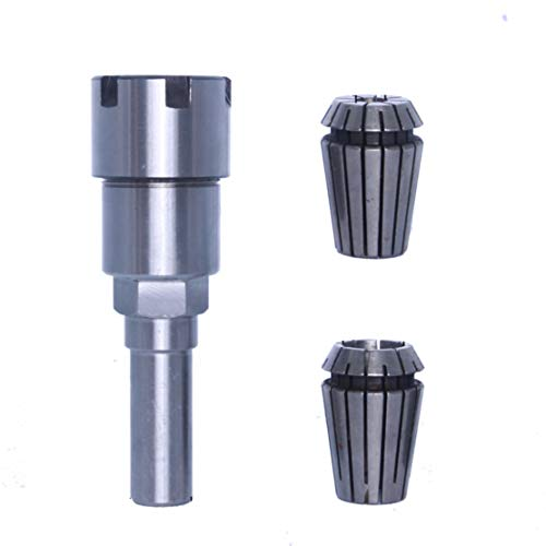 Activists 1/2 Inch Shank Router Collet Extension Router Adapter Collet with ER20 Spring Collet 6.5mm 13mm
